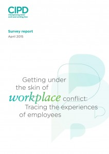 Report  from CIPD 2015 about conflict in the workplace